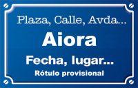 Aiora (calle)