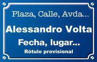 Alessandro Volta (calle)