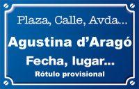 Agustina d'Aragó (calle)