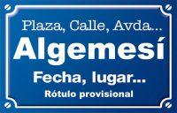 Algemesí (calle)