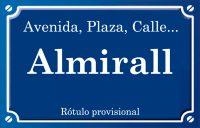 Almirall (calle)