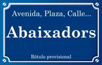 Abaixadors (plaza)