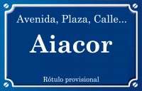 Aiacor (calle)