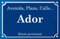 Ador (calle)