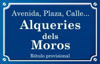 Alqueríes dels Moros (calle)