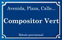 Compositor Vert (calle)