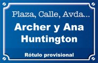 Archer y Anne Huntington (calle)