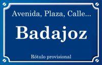 Badajoz (plaza)