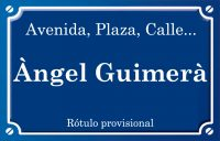 Ángel Guimerà (calle)