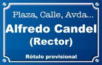 Alfredo Candel (plaza)