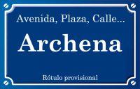 Archena (calle)