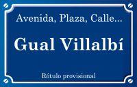 Gual Villalbí (calle)