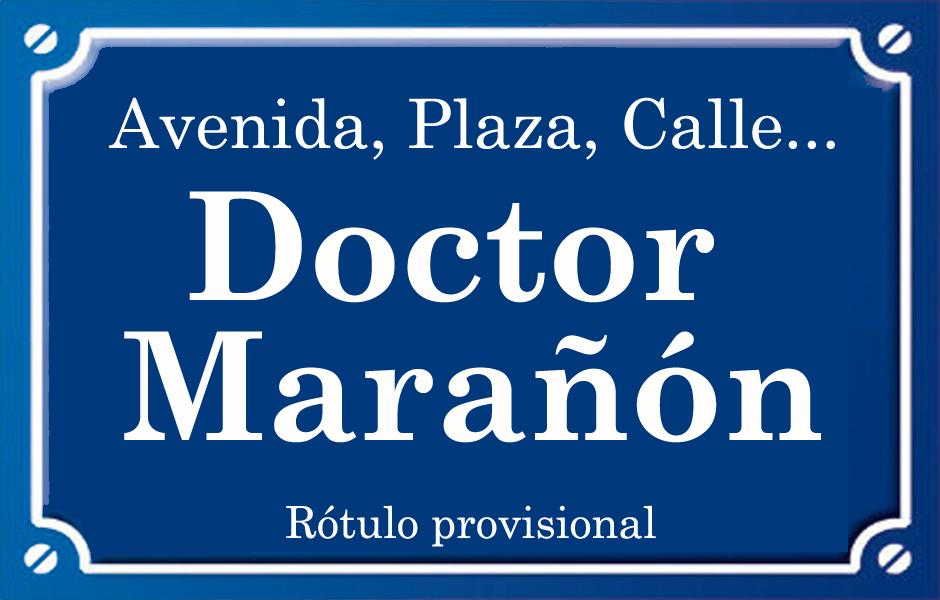 Doctor Marañón (calle)