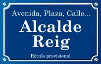 Alcalde Reig (calle)