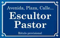 Escultor Pastor (Plaza)