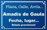 Amadís de Gaula (calle)
