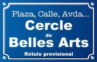 Cercle de Belles Arts (calle)