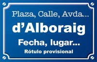 Alborache (plaza)