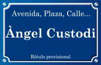 Àngel Custodi (calle)