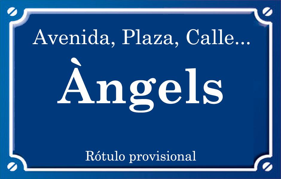 Àngels (calle)
