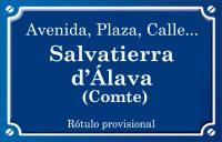 Comte de Salvatierra d'Álaba (calle)
