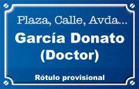 Doctor García Donato (calle)