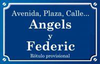 Angels y Federic (passatge)