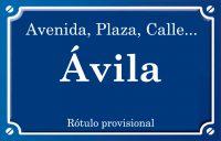 Ávila (plaza)