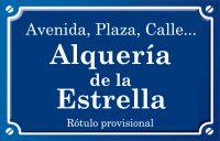 Alquería de la Estrella (calle)
