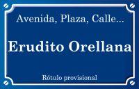 Erudito Orellana (calle)