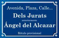 Ángel del Alcazar (calle)