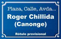 Canonge Roger Chillida (plaza)