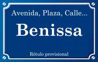 Benissa (calle)
