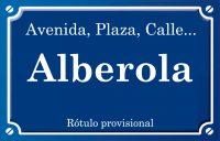 Alberola (calle)