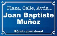Joan Baptiste Muñoz (calle)