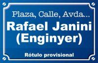 Enginyer Rafael Janini (calle)