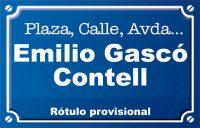 Emilio Gascó Contell (calle)