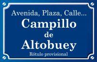 Campillo de Altobuey (calle)