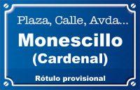 Cardenal Monescillo (plaza)