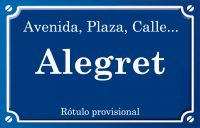 Alegret (calle)