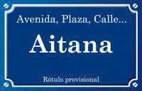 Aitana (calle)