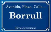 Borrull (calle)