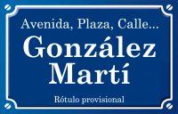 González Martí (calle)