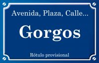 Gorgos (calle)