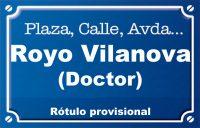 Doctor Royo Vilanova (calle)