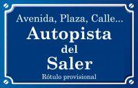 Autopista del Saler (avenida)