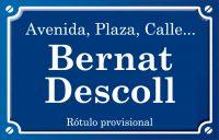 Bernat Descoll (calle)