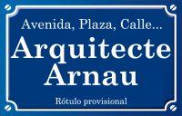 Arquitecte Arnau (calle)