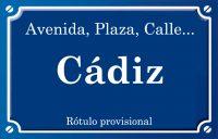 Cádiz (calle)