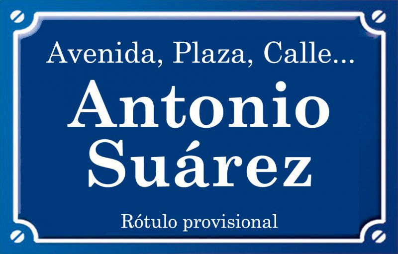Antonio Suárez (calle)